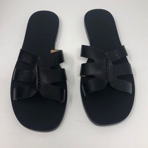NEW In Box Banana Republic Leather Sandals Bridge